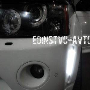 Изготовление светодиодных ходовых огней Land Rover SPORT
