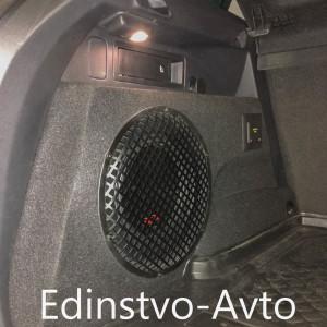 Изготовление сабвуфера «стелс» VW Tiguan 2018