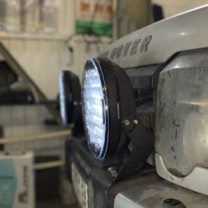 Установка доп освещения Land Rover Discovery