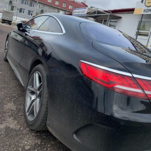 Тонирование Mercedes Benz s560 coupe