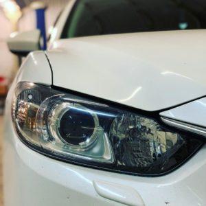 Установка led модулей Mazda 6